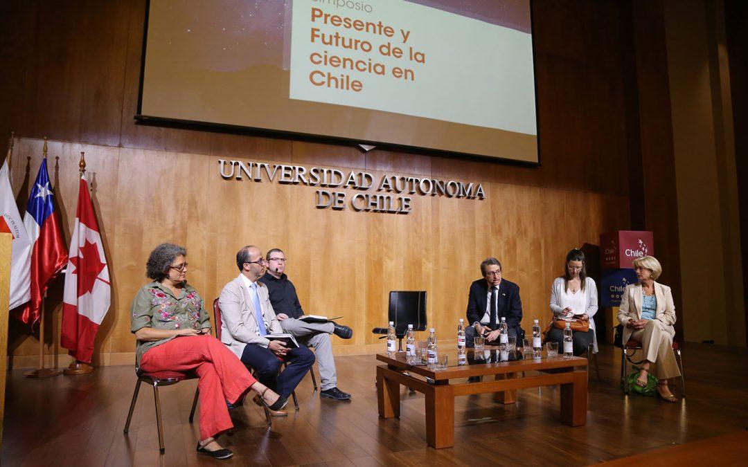 """Simposio """"Presente y futuro de la ciencia en Chile: Una perspectiva renovada para el siglo XXI"""""""